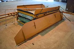 MISC-AG Rubber Belt Extending Conveyor & Grain Displacement Augers