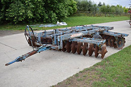 PARMITER Utah 12ft rigid disc harrows