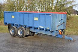 EASTERBY 14t grain trailer