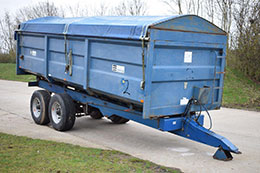 AS MARSTON 14 tonne grain trailer