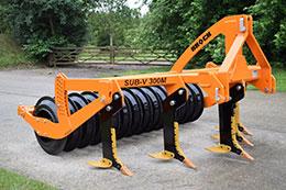 BROCK Sub-V 300M 3m 5 leg mounted subsoiler