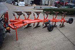 KUHN 182 OL 6 furrow (5+1) on-land/in-furrow plough