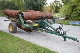 COUSINS 12.3m Sidewinder horizontal fold rolls