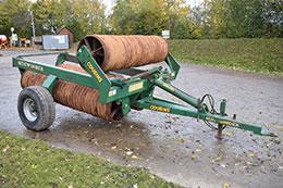 COUSINS 7.3m Sidewinder horizontal fold rolls