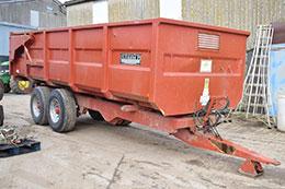 GRIFFITHS 14t grain trailer
