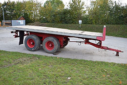 MISC-AG 20ft twin axle lorry conversion flat trailer
