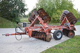 PARMITER Super Utah 15ft / 4.5m hydraulic folding disc harrows